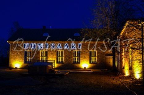 Restaurant pe insula Uunisaari