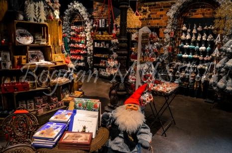 In unul din magazinele lui Mos Craciun