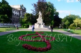 Mozart - Burggarten