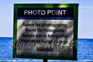 Loc de fotografiat - Zelena Laguna