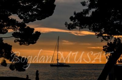 Asfintit de soare in Adriatica