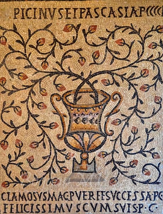 Vechi mozaic roman