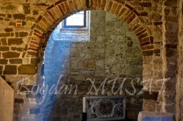 La muzeul din incinta Bazilicii lui Eufrasius