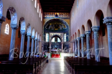 Bazilica lui Eufrasius cu minunatele mozaicuri bizantine