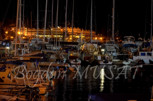 Marina Porec, noaptea