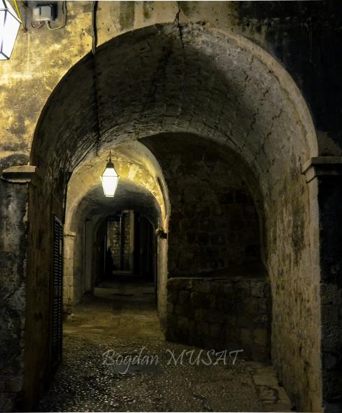 Old lanes in Dubrovnik
