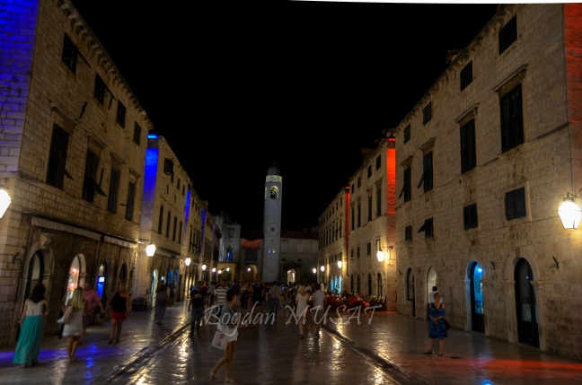 Stradun by night, Dubrovnik