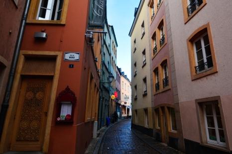Straduta in Luxembourg